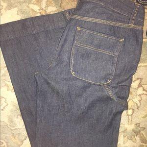 Ladies Size 6 Denim JCrew pant